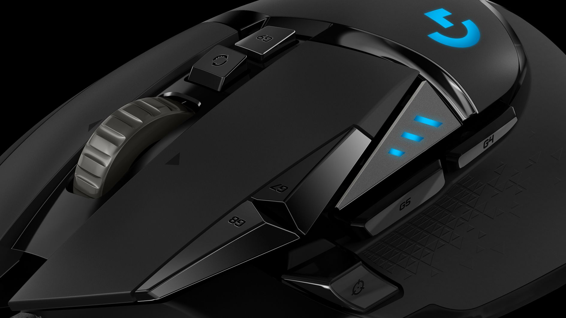 The Logitech G502 WeightWeight